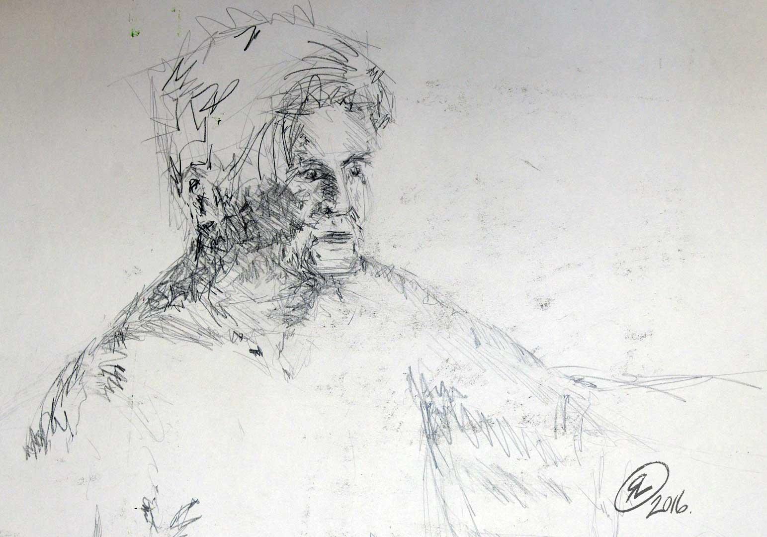 Drawing Using Lines : Outlines u2013 pencil ross lammas